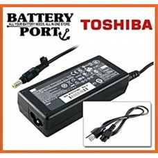 [ TOSHIBA LAPTOP CHARGER ] Satellite  - 15V 5A 6.3x3.0mm